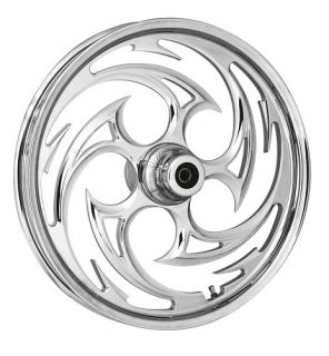Components Savage Chrome Wheels 4 Harley Davidson FLH 2009 2013