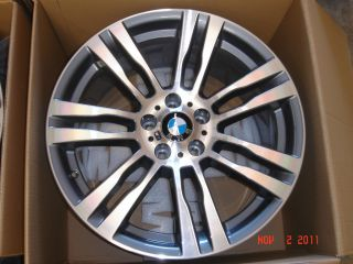 x5 Genuine M Wheels 20 Style 333 Double Spoke 2007 Up New Rims