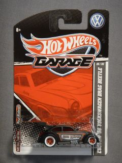 HOT WHEELS GARAGE REAL RIDERS 56 VOLKSWAGEN DRAG BEETLE DER KAFER #6