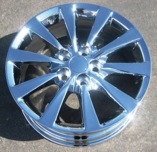 FACTORY LEXUS LS460 LS460L OEM CHROME WHEELS RIMS 2007 2012   SET OF 4