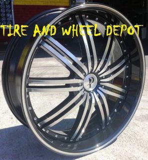 22 inch P118 Rims Wheels and Tires Mountaineer Charger R T Chevelle