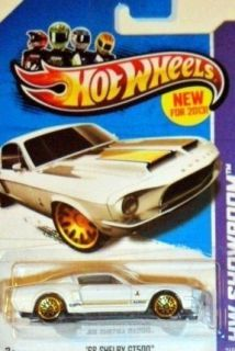 Hot Wheels 2013 Series 1968 Ford Mustang Shelby GT500