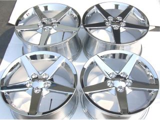 Chevrolet Corvette C6 2005 2006 2007 2008 Chrome Wheels Rims Exchange