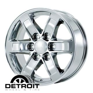 DENALI YUKON VAN 2007 2011 PVD Bright Chrome Wheels Rims Factory