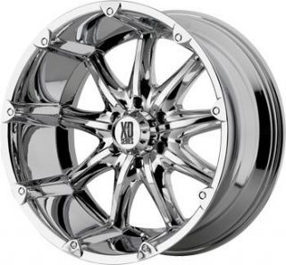 Chrome Tires Rims Chevy GMC Truck Rims Wheels Nitto Tires