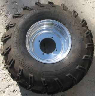 ITP 24x11 10 24 11 10 ATV Mud Lite Tire Aluminum Rim New