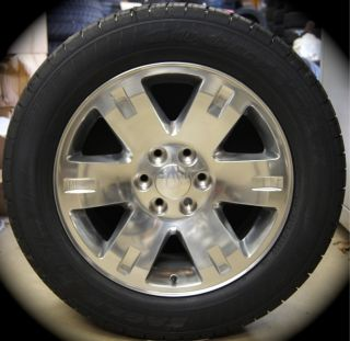Yukon XL Factory Polished 20 Wheels Rims Tires Silverado