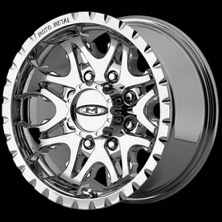 16 Wheels Rims Moto Metal 950 Chrome 16 x 8 Lug 5 6 8