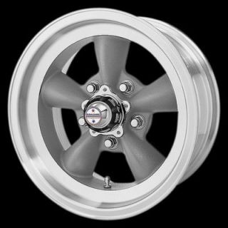 14 Inch Gray TT D WHEELS 5 Lug Rims Dodge Dart Ford Mustang Ranger
