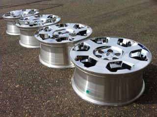 F150 Chrome Platinum Harley Factory Stock 20 Wheels Rims 22