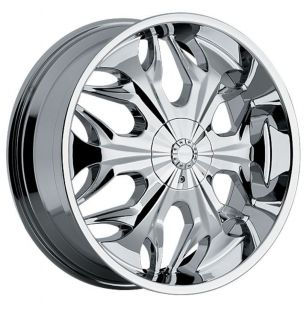 Reaper 508 5x120 BMW Camaro S10 Range Rover Chrome Wheels Rims