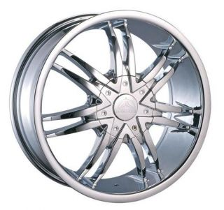 24 Wheels Rims Package Free Tires Bentchi Borghini B14 Chrome 5x139 7