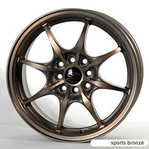 15 Rota Circuit 8 Bronze Rims Wheels Civic Integra CRX