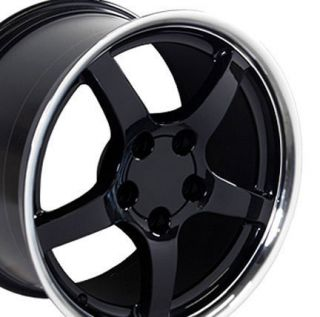 17 Rims Fit Camaro Corvette C5 Deep Dish Wheels Set