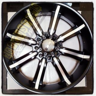 26 inch 26 Dcenti 903 Black Wheels Rims Tires 8x165 315 40 26 Hummer