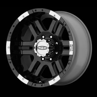 18 WHEELS RIMS MOTO METAL MO951 GLOSS BLK W/ 285 65 18 NITTO TERRA