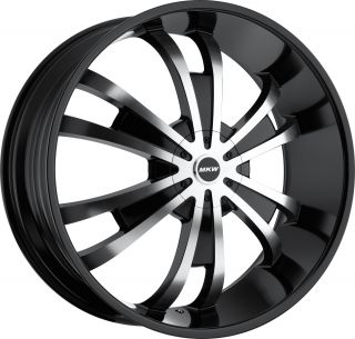 MKW 28 Black Wheels Ford F150 Expedition Ford Models Donks