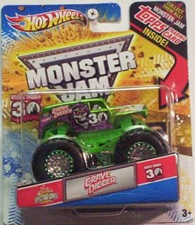Anniversary Monster Jam Green Spectraflames 2012 Hot Wheels