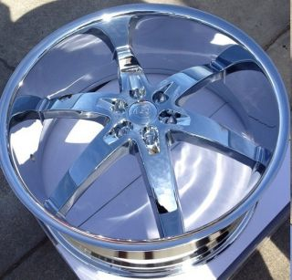 24 Borghini 12 U2 55 Wheels Tires Rims Escalade Tahoe Yukon Avalanche
