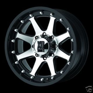 18 Rims 8 Lug Addict Wheels Chevy Dodge RAM F250 F350