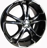 22 Forte F50 Rims Fits Ford Chevy Dodge Cars Trucks
