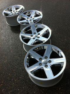 1500 RAM laramie HEMi OEM stock FACTORY 20 CHROME WHEELS RIMS CAPS 22