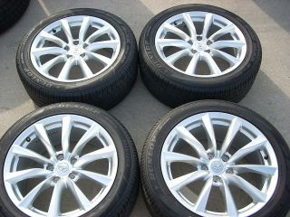 18 STAGGERED INFINITI G37 COUPE CONVERTIBLE WHEELS TIRES RIMS DUNLOP