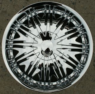 MIROR MR8 20 CHROME RIMS WHEELS LEXUS GS300 SC400 GS400 / 20 X 8.5 5H