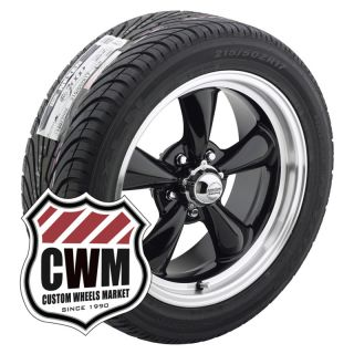 17x8 Black Wheels Rims Nexen Tires 235 45ZR17 for Chevy S10 Pickup 2wd