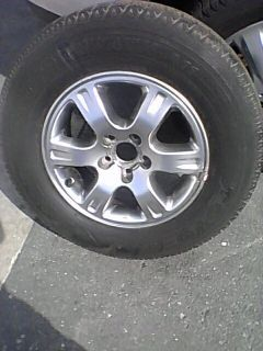2001 07 Toyota Highlander 16 Rim Wheel with New Tire