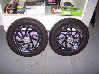 Harley Davidson Custom Wheels