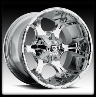 20 Fuel Offroad Dune Chrome Wheels Rims Federal 35x12 50x20 Couragia
