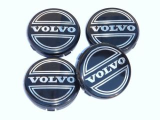 Volvo Alloy Wheel Centre Caps S40 V40 V50 S60 S80 V70
