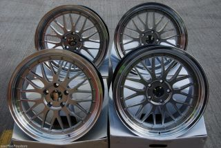 18 LM Mesh Alloy Wheels Fit BMW 5 Series E39 Saloon