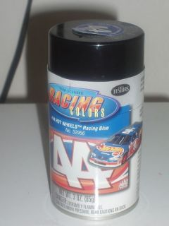 Racing Colors 44 Hot Wheels Racing Blue Spray Paint