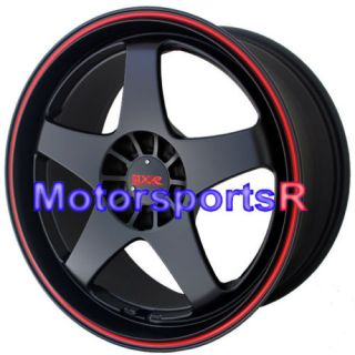 17 XXR 962 Black Red Stripe Rims Toyota Matrix Vibe Le