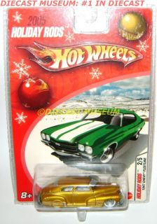 1947 47 Chevy Fleetline Hot Wheels 2005 Holiday Rods