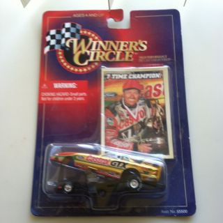 Circle 7 Time Champion John Force Ford Dragster Hot Wheels