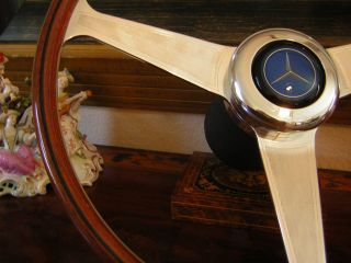 Mercedes W113 280 SL 42 cm 16 54 Nardi Wood Steering Wheel New