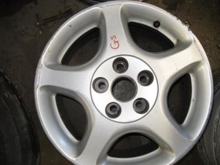 98 99 00 LEXUS GS300 WHEEL RIM ALLOY 16X7 1 2 ALUMINUM FACTORY