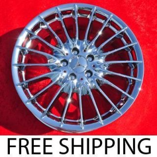 New 19 Mercedes Benz CL600 S600 OEM Chrome Factory Wheels Rims 85169