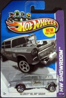 2013 Hot Wheels 55 Chevy Bel Air Gasser 2013 HW Showroom New