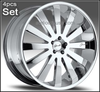 22inch Giovanna Wheels Rims 300C Magnum Charger