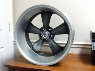 17x7 8 Coys C5 Matt Grey Wheels Chevy Bel Air 55 65 New