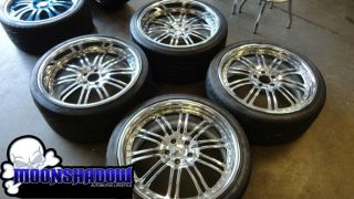 COUTURE MERCEDES BENZ CLS CLASS CHROME WHEELS RIMS CLS500 CLS550 TIRES