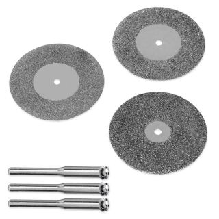 40mm 1 5 8 Diamond Cut Off Wheels Fits Dremel Cut Glass Stone