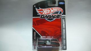 2011 Hot Wheels Garage 62 Ford Mustang Black 9 20
