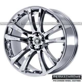 JAGUAR XK SENTA 20 CHROME WHEELS RIMS PERMACHROME 59817 8 EXCHANGE