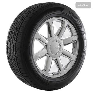 20 GMC Sierra Yukon Denali Chrome Rims Wheels Tires