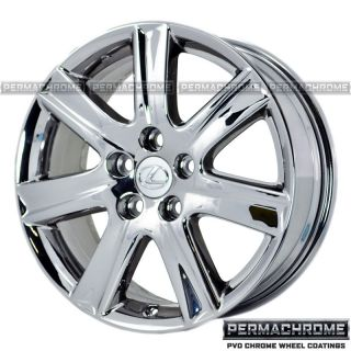 Lexus ES350 Chrome Wheels Rims 74190 Permachrome Outright Sale